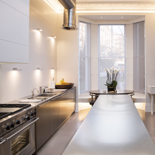 kitchen lighting design example