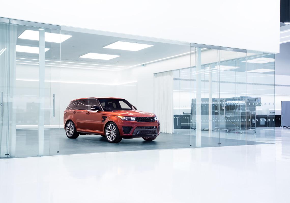 vehicle showroom lighting