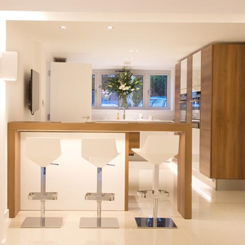 kitchen lighting design london