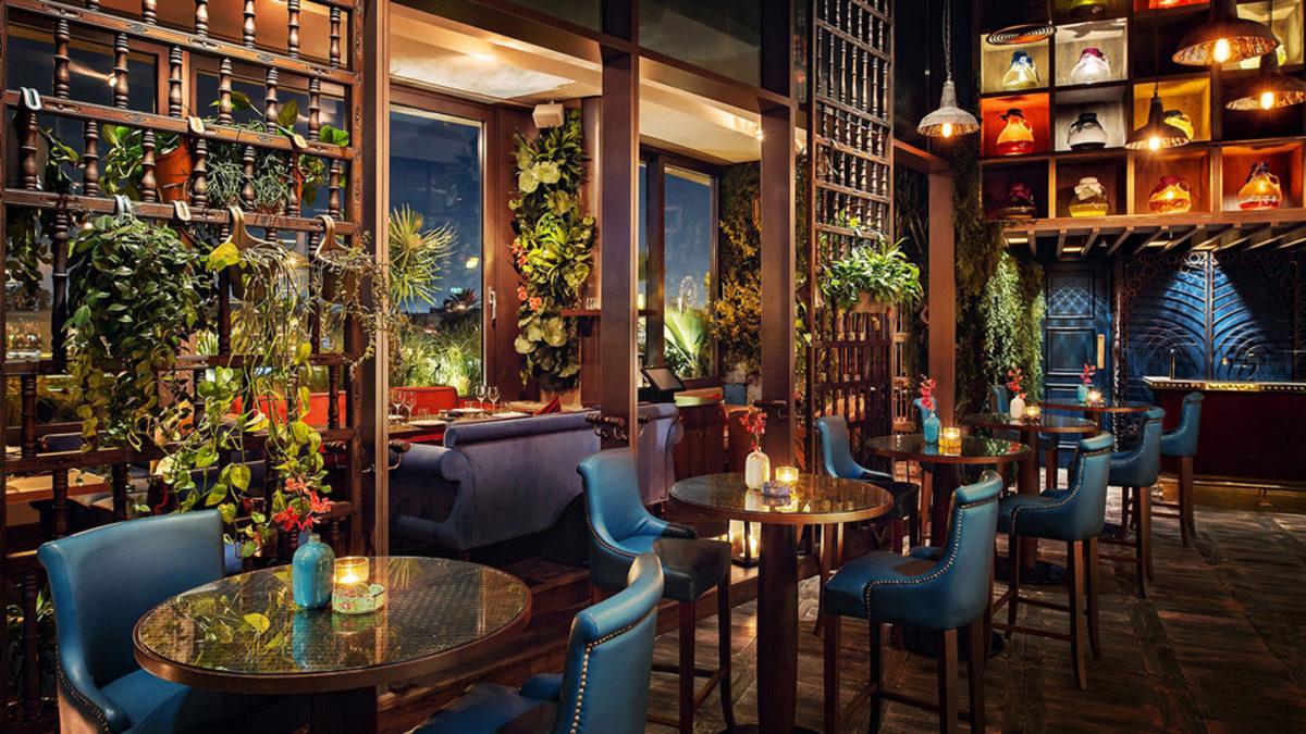 Restaurant lighting design