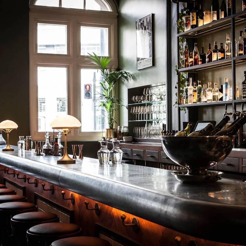 Bespoke bar top lights