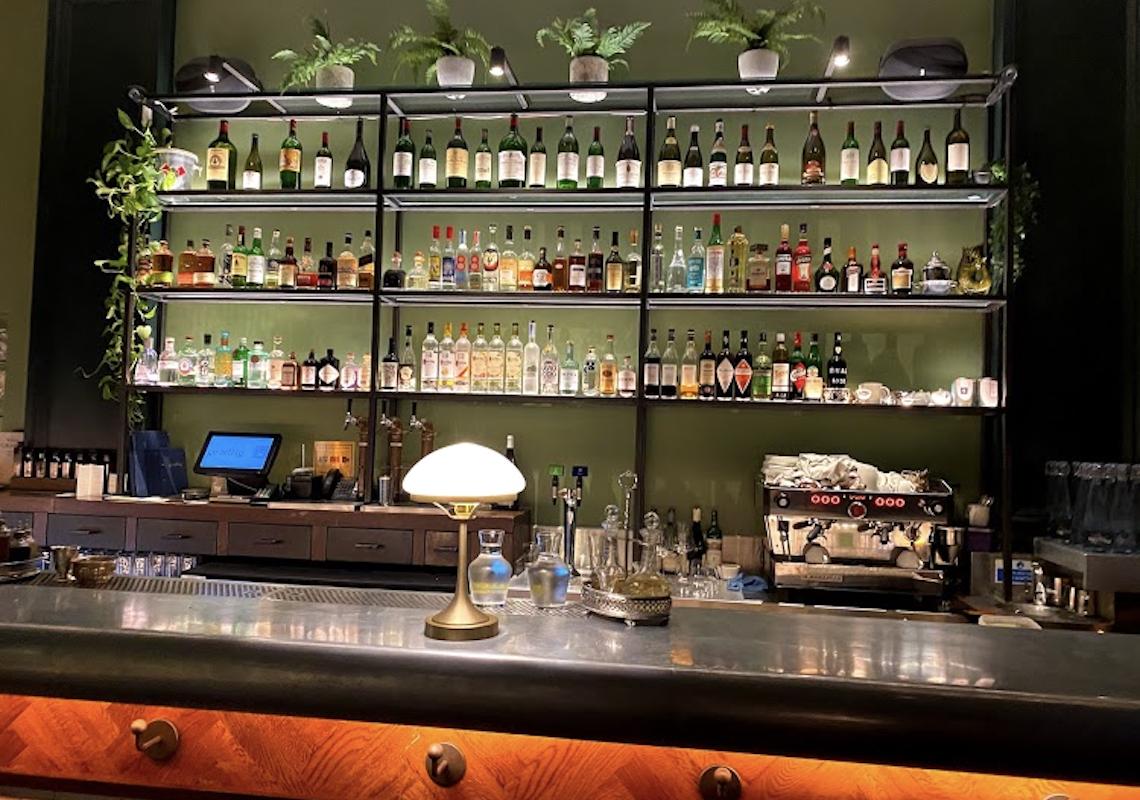 LED lighting in bar