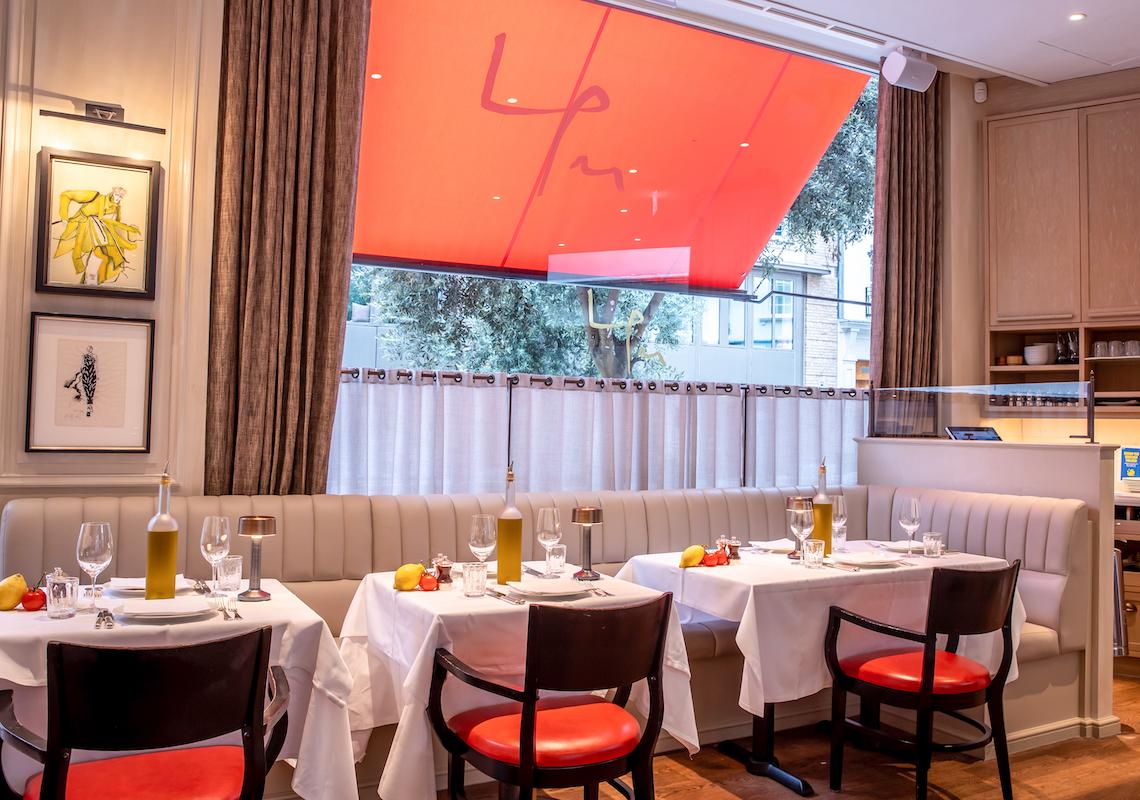 table lights in restaurants